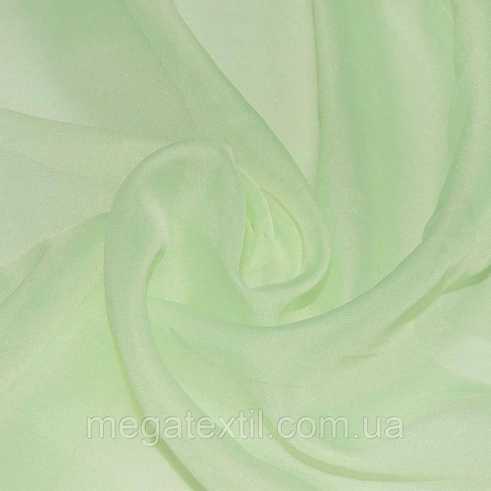 Вуаль молочно-салатова ш.280 (30155.059)