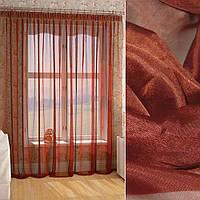 Вуаль бордово-коричнева ш.280 (30156.063)