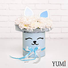 Милый flowerbox с декором для девушки