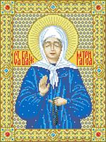 Схема для вышивки картин на канве Св.Блаженная Матрона ИКан 3003