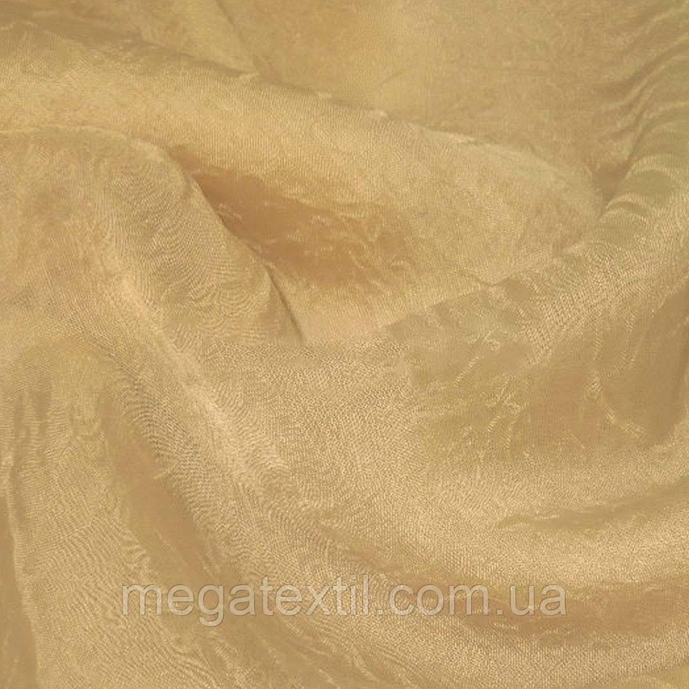 Вуаль креш бежева з рожевим відтінком ш.280 (30161.008)