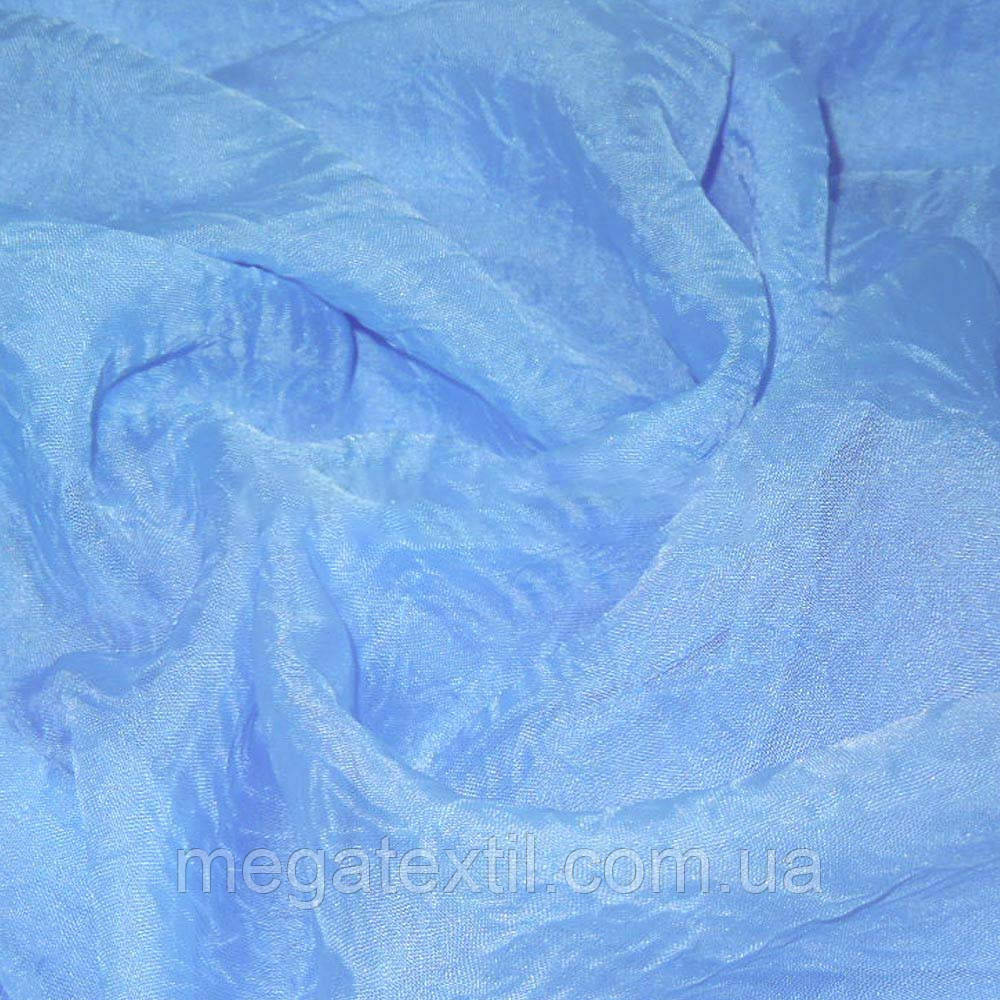 Вуаль креш блакитна ш.280 (30161.009)