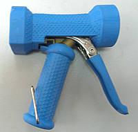 Промышленный пистолет для воды с регулировкой сопла подачи воды.