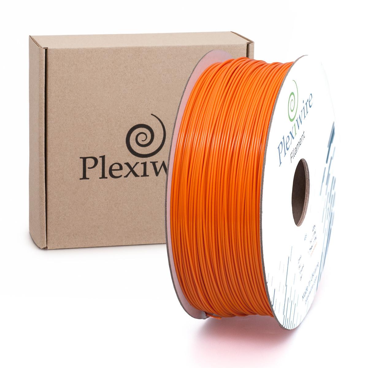Пластик в котушці ABS 1,75 мм 1кг/400м Plexiwire Оранжевий