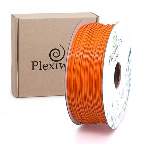 Пластик в котушці ABS 1,75 мм 1кг/400м Plexiwire Оранжевий, фото 2