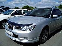 Дефлектор капота (мухобойка) Subaru Impreza 2006-2008