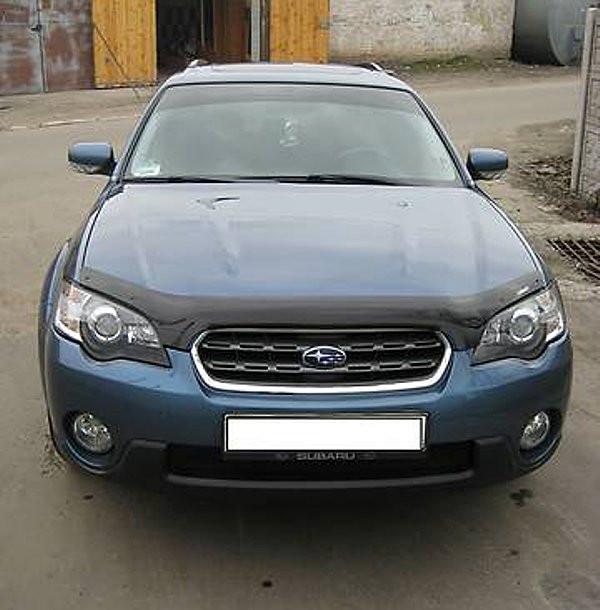 Дефлектор капота (мухобойка) Subaru Legacy/B4/Outback 2004-