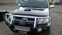 Дефлектор капота (мухобойка) Тойота HILUX 2005-