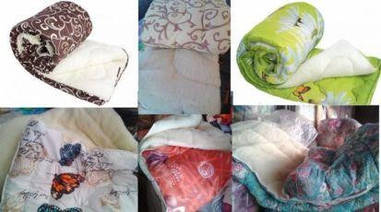 Одеяло АРДА  открытый мех в микрофибре 1,5-ка