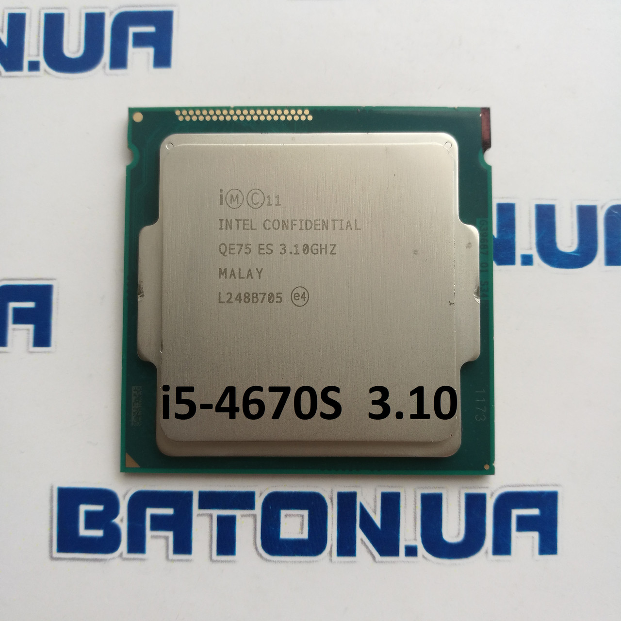 Процессор Intel® Core™ i5-4670S QE75 3.1GHz up 3.8GHz 6M Cache Socket 1150