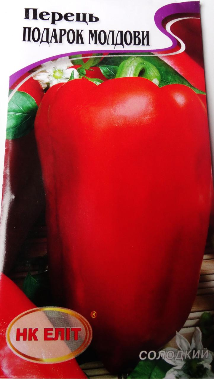 Семена  Перца 0,3 гр  сорт Подарок Молдовы