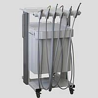 Мобильный блок инструментов врача-стоматолога и асистента Combi Cart
