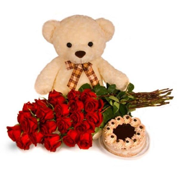 """Класичний букет троянд """"З Днем Народження"""""""