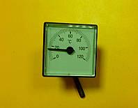 Термометр квадратный капиллярный ( применяется в отечественных котлах )