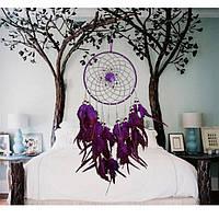 Оберег ловец снов модель фиолетовый (Ф 10), фото 1