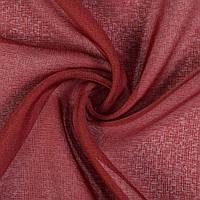 Льон французький бордовий рисочки ш.280 (30447.024)