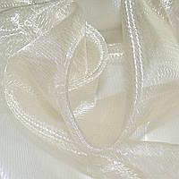 Кристалл органза гардинная штрихи, хамелеон бежевая светлая, ш.270 (30506.051)