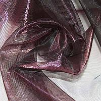 Кристал-органза бордова темна хамелеон ш.280 (30507.003)