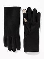Перчатки женские флисовые Old Navy США сенсорные для смартфона Тач Скрин