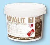 Полисиликатная фасадная штукатурка NOVALIT T  (слабощелочная) 25кг