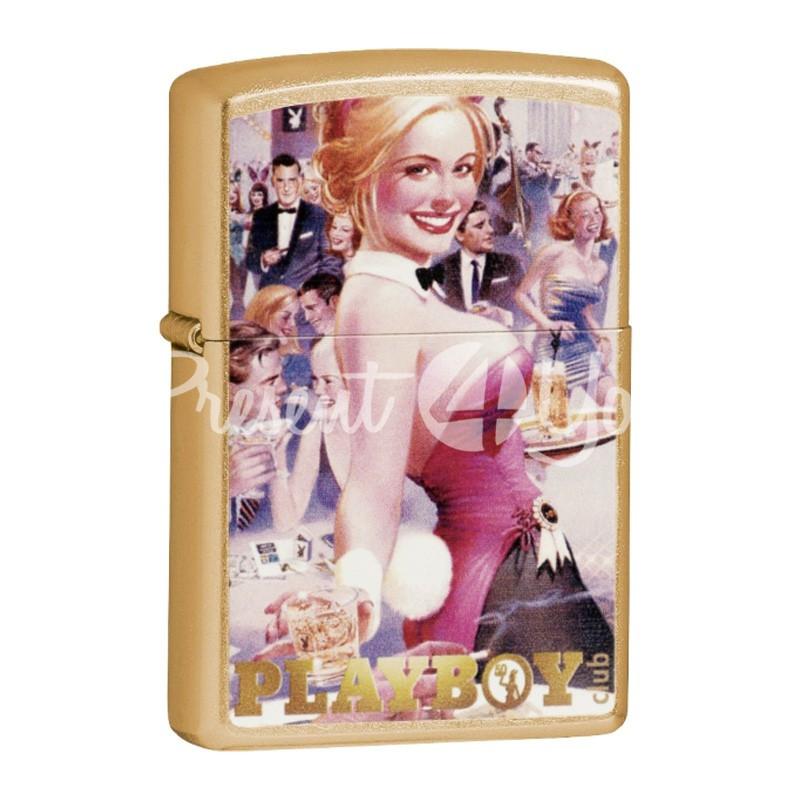 Зажигалка Zippo Playboy Club 24870