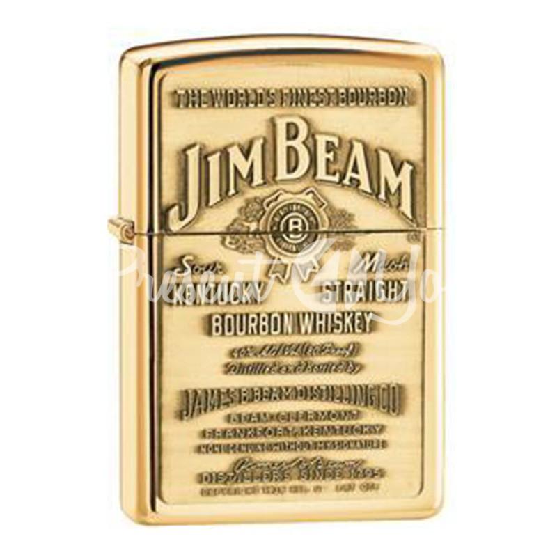 Зажигалка Zippo Jim Beam Brass Emblem 254BJB929