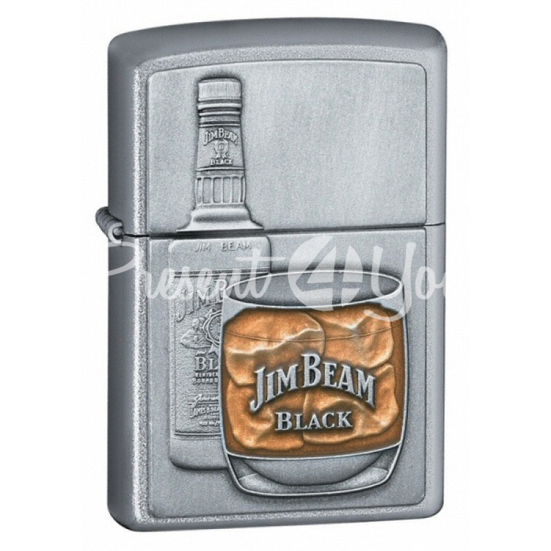 Зажигалка Zippo Jim Beam Bottle With Glass 21111