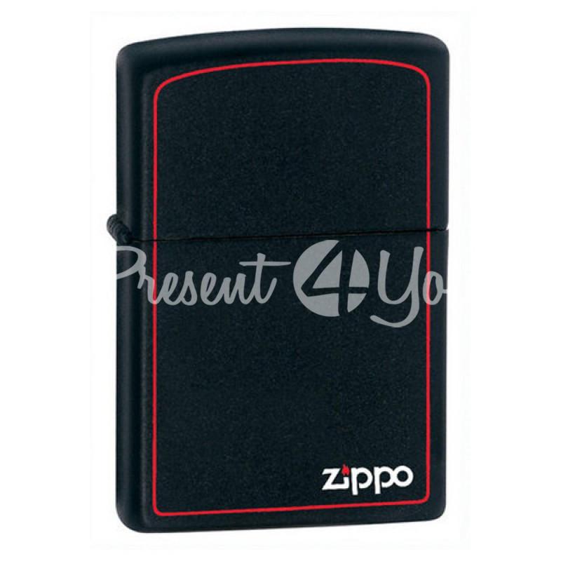 Зажигалка Zippo Classic Black Matte 218ZB