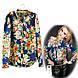 Цветочная блузка СС5464, фото 4