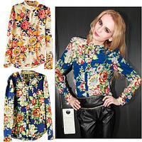 Цветочная блузка СС5464