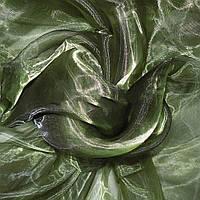 Органза тюль зеленая темная, ш.280 (30512.010)