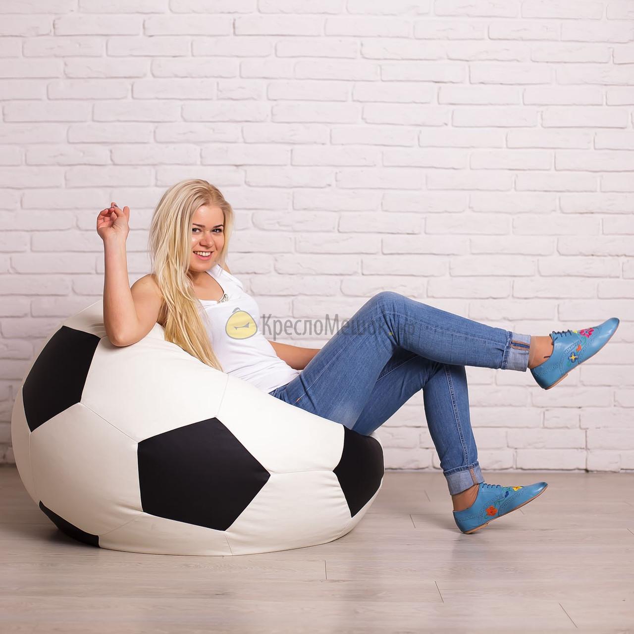 Кресло мяч из эко кожа Zeus