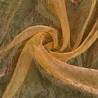 Органза жата жовта з рожевим відливом ш.275 (30514.011)