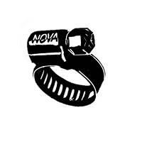 Хомуты оцинкованные Nova