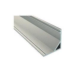 Алюминиевый профиль угловой скрытый SL9 для LED ленты серебро (за 1м) Код.59415