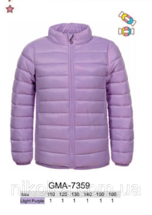 Куртки для девочек оптом, Glo-story, 110-160 рр., арт. GMA-7359