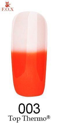 Топовое покрытие для ногтей F.O.X Top Thermo 003, 6 ml