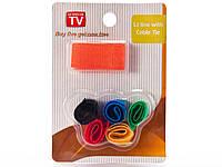 Ленты для фиксации проводов 6 шт. цветные
