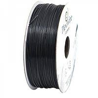 Пластик в котушці ABS+ 1,75 мм 1кг/400 м, Plexiwire, Чорний