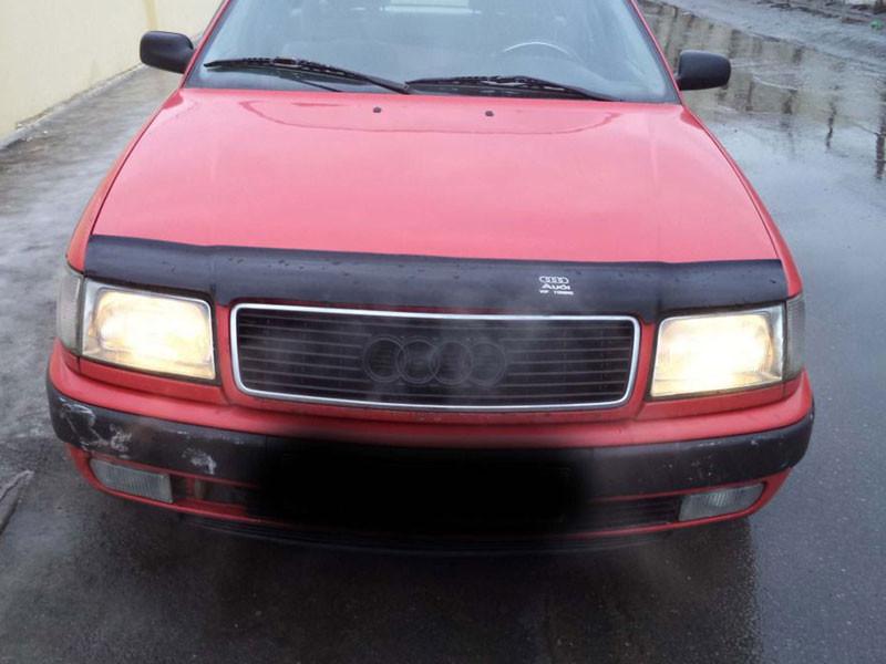 Дефлектор капота (мухобойка) AUDI 100 ( 45кузов С4) с 1990-1994 г.в.