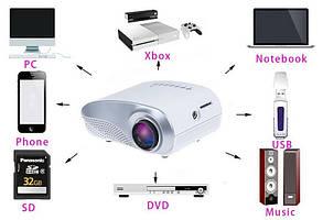 ПРОЕКТОР LED HDMI USB XBOX !Супер пристрій!!, фото 2