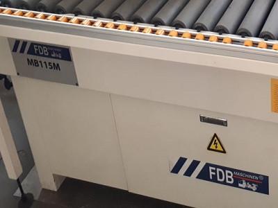Кромкооблицовочный станок FDB Maschinen MB 115 M