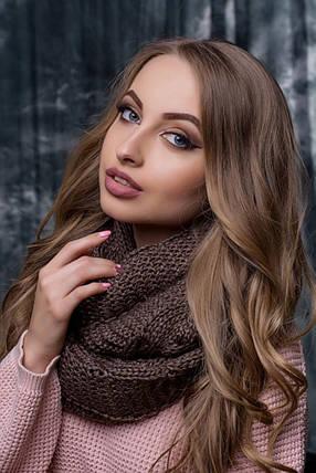Снуд Алегро  Flirt шоколад, фото 2
