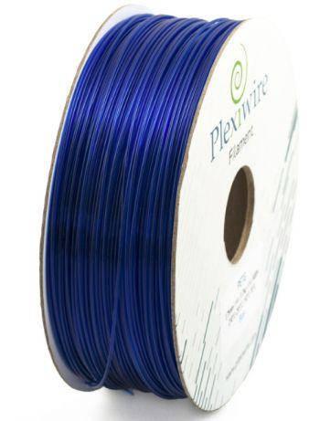 Пластик в котушці ABS+ 1,75 мм 1кг/400 м, Plexiwire, Синій, фото 2
