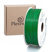 Пластик в котушці ABS+ 1,75 мм 1кг/400 м, Plexiwire, Зелений
