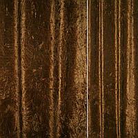 Велюр портьєрний жатий коричнево-золотистий ш.140 (31200.003)