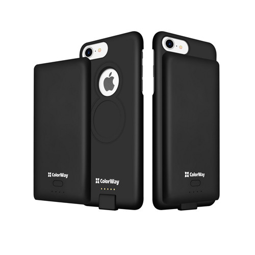 Внешний аккумулятор (Power Bank) ColorWay 4000 mAh Black for iPhone 6/7