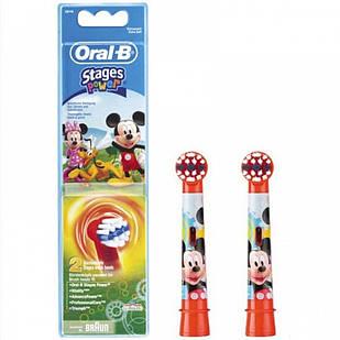 Змінні насадки  для дитячої зубної щітки Oral-B Stages Power Miki 2 шт