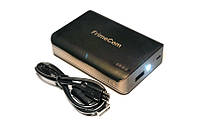Внешний аккумулятор (Power Bank) FrimeCom 4S-BK 6000 mAh Black LED