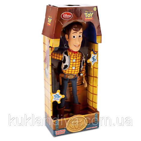 Говорящий Ковбой Вуди / Toy Story Woody Talking Figure 40 см